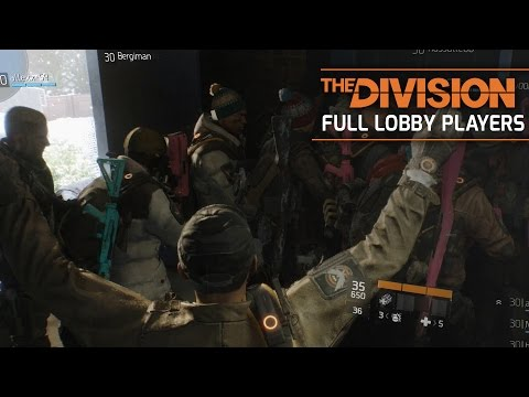 "The Division - Full 30 Players Lobby Glitch 'Max Group"" (Challenge Mode) Gameplay"