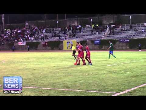 Bermuda Defeats French Guiana Game Goals, March 26 2016