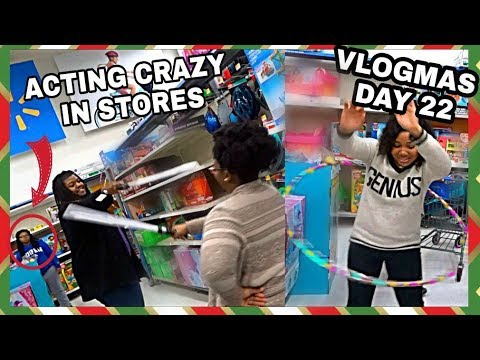WHAT IT'S REALLY LIKE LAST MINUTE CHRISTMAS SHOPPING! VLOGMAS DAY 22