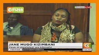 Jane Mugo asema ahitaji ulinzi