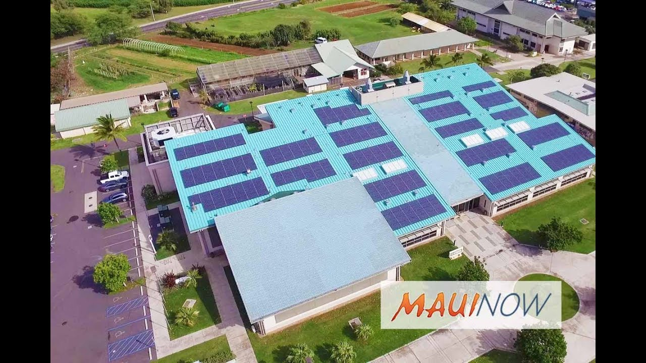 Uh Maui College >> Uh Maui College Aims To Be First For 100 Renewable Energy On Site