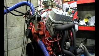Big Block Mopar on engine dyno