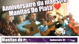 Compas - Manitas de Plata anniversaire 07/08/2014