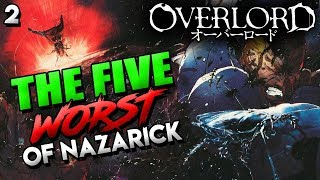 Who Are The Worst Five In OVERLORD? Nazarick's Scariest & Most Evil NPCs