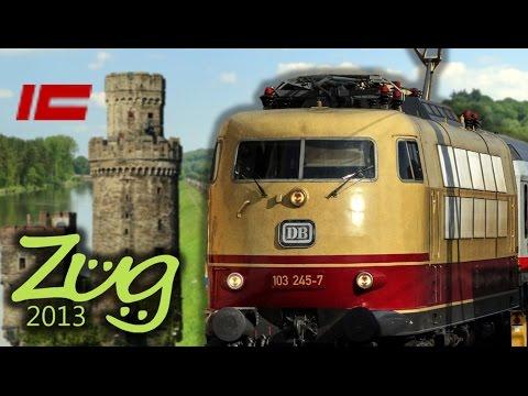 Zug2013: Intercity IC Dokumentation mit BR103, 120, 101 u.v.m. (Teil 1 1971-1999)