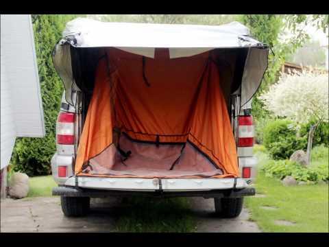Тент и палатка в кузов УАЗ PICKUP