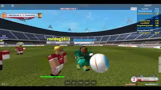 Roblox Soccer: Man United VS Cameroon