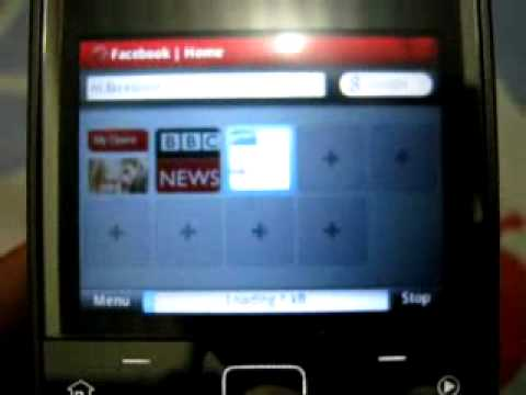 Opera Mobile 10 Scroll on Nokia X5