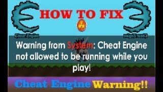 Growtopia | How to run Cheat Engine without any Warning!!
