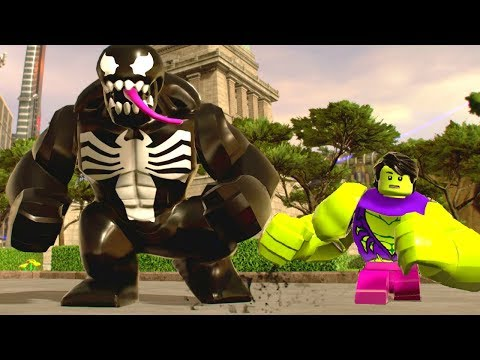 LEGO Marvel Super Heroes 2 - All Character Transformations & Suit Ups
