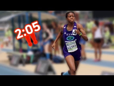 15-Year-Old Shatters 800m National Record!