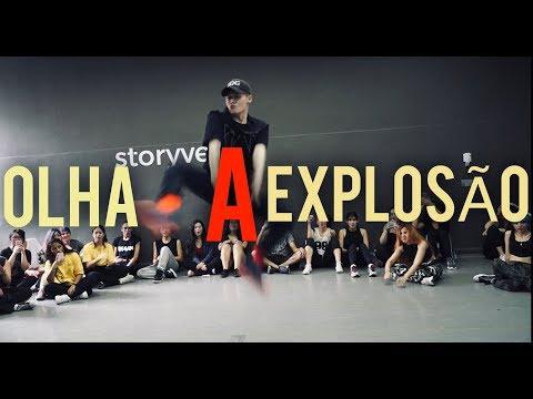 MC Kevinho - Olha a Explosão (KondZilla) in SAO PAULO   Rikimaru Choreography