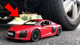 EXPERIMENT: CAR vs Audi R8 (Toy)