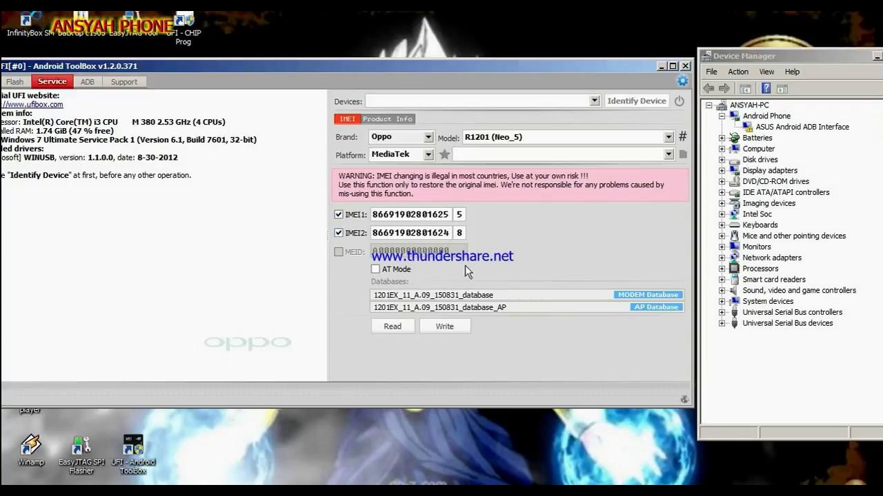 Mtk6750 Database File