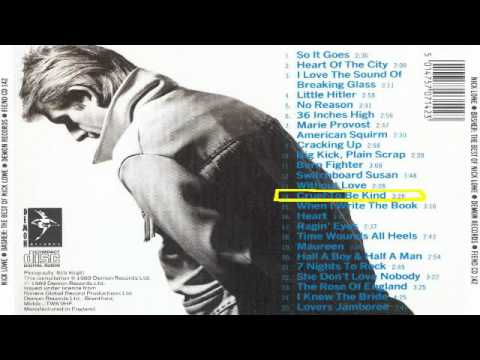 Nick Lowe - Cruel To Be Kind (best audio quality)