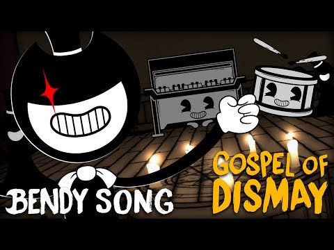 BENDY CHAPTER 2 SONG (GOSPEL OF DISMAY) LYRIC VIDEO - DAGames