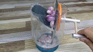 cara Membuat alat Pemotong Bawang dari toples