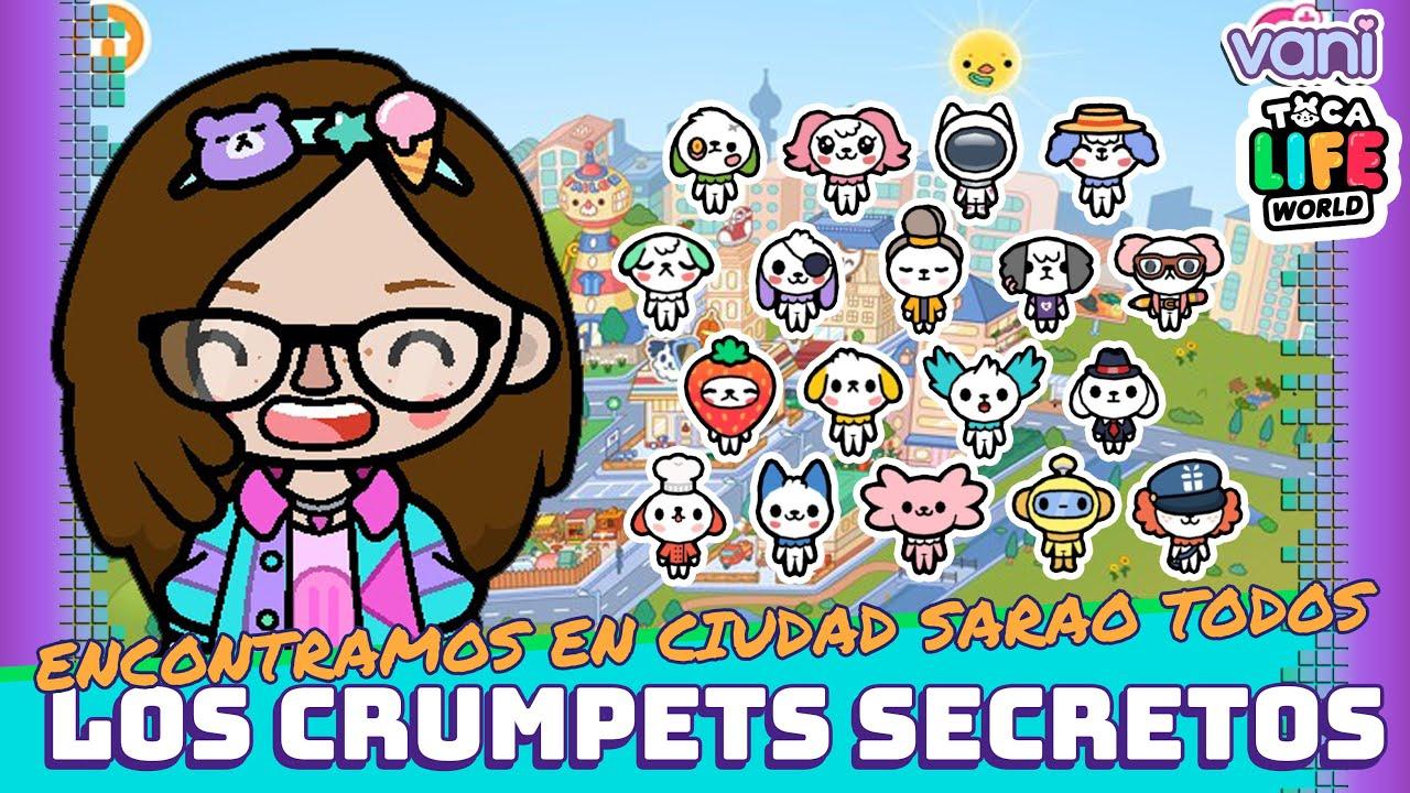 Download COMO CONSEGUIR LOS CRUMPETS DE CIUDAD SARAO TOCA LIFE WORLD !!