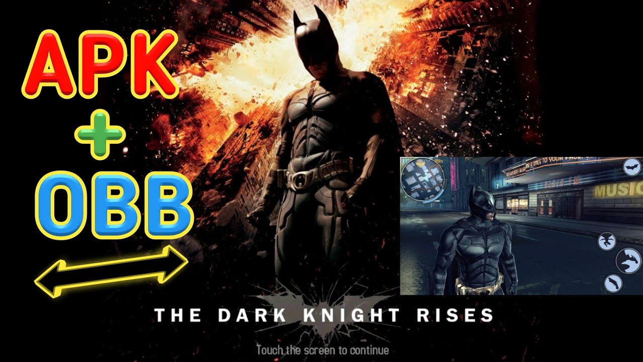 the dark knight rises apk data lollipop
