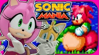 AMY XL! | Tails and Amy Play Sonic Mania Plus Mods