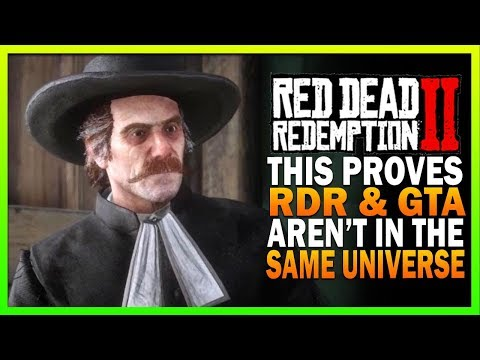 This Proves Red Dead Redemption 2 & GTA Aren't In The Same Universe RDR2 Secrets thumbnail