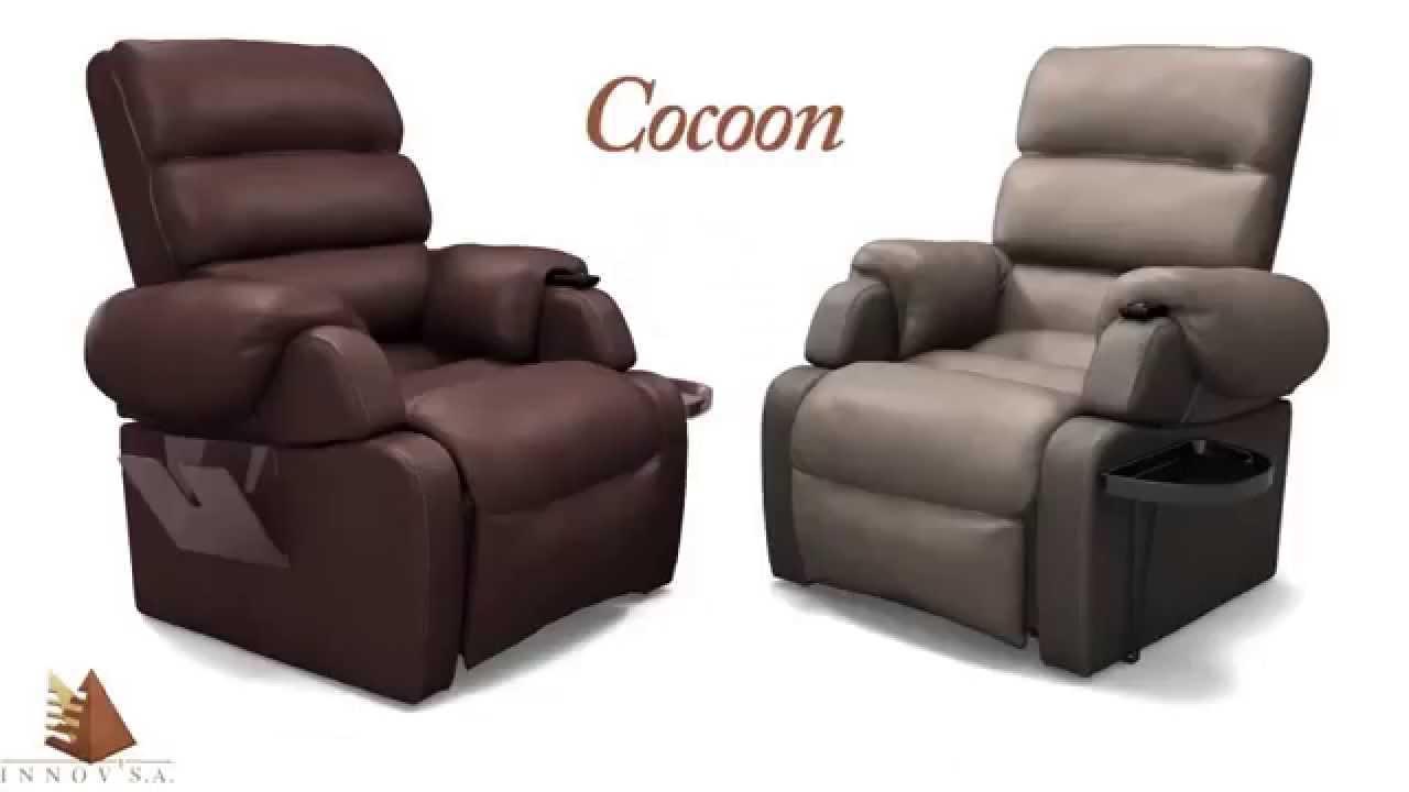 acheter en ligne 78e26 b6402 Fauteuil de relaxation releveur Cocoon Innov SA par detentation.com