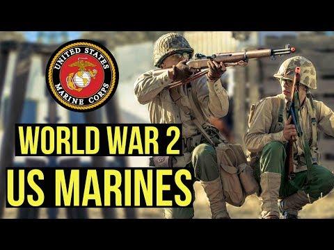 World War 2 Airsoft US Marines | Milsim West/G&G Armament: 1945 (World War 2 Airsoft Game)
