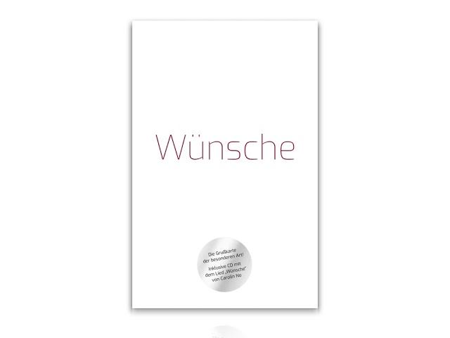 """Neu: Die """"Wünsche""""-Grußkarte!"""