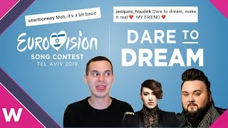 DARE TO DREAM | Eurovision 2019 slogan (Reaction)