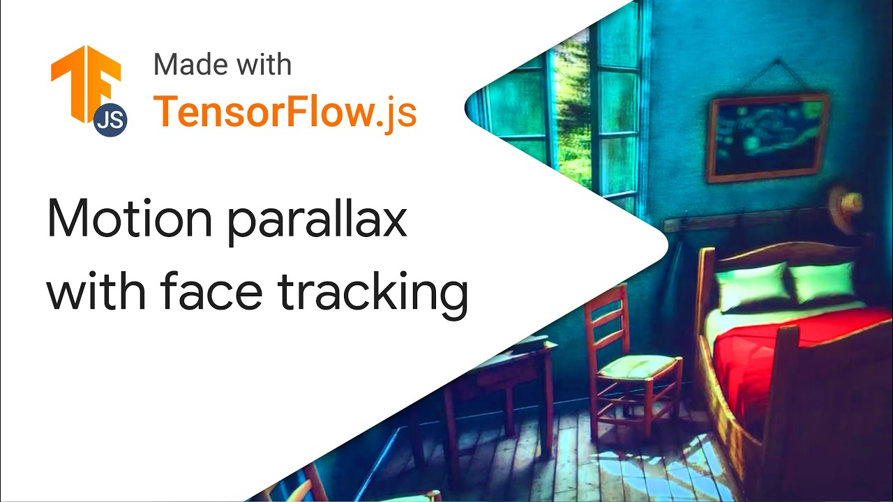 Motion Based Parallax with Face Tracking - Made With TensorFlow.js