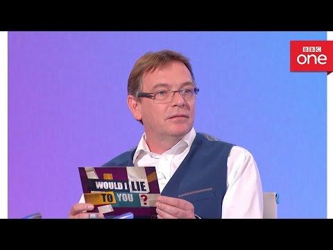 Does Adam Woodyatt practice mindfulness by staring at a carrot? - Would I Lie To You? Series 10
