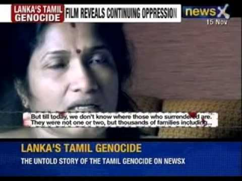 NewsX Exclusive: Lanka's Tamil Genocide documentary