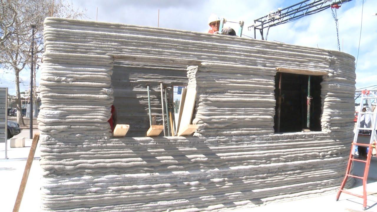 Imprimen la primera casa espaola en 3D en Valencia  YouTube