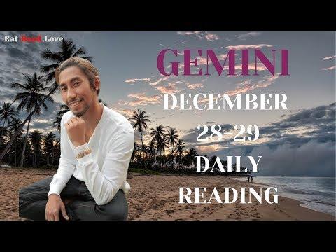 "GEMINI SOULMATE ""YOU WILL BE SURPRISED"" DEC 28-29 DAILY TAROT READING"
