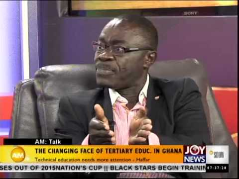 The Changing face of Tertiary Education in Ghana - AM Talk (8-10-14)