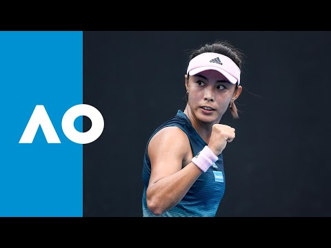 Qiang Wang v Aleksandra Krunic match highlights (2R) | Australian Open 2019