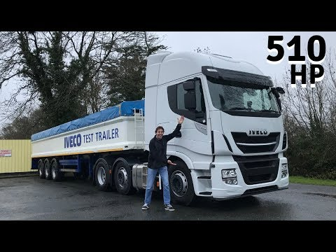 IVECO Stralis 510 (Euro 6) Truck – Full Tour & Test Drive