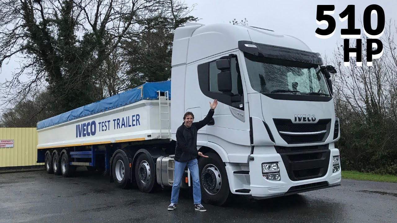 IVECO Stralis 510 (Euro 6) Truck - Full Tour & Test Drive ...