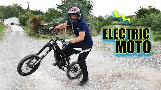 THE COOLEST ELECTRIC MOTORBIKE !