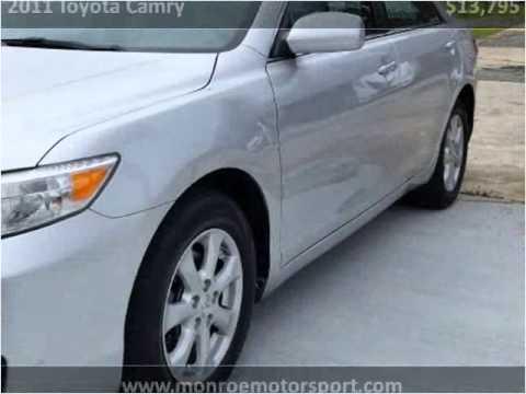 2011 Toyota Camry Used Cars Monroe Nc Youtube