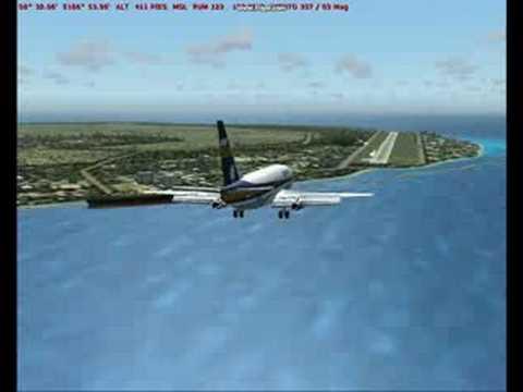 Nauru island -  Flight Simulator