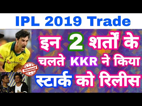 IPL 2019 Trade -Watch 2 Reason Why KKR Release Mitchell Starc Before IPL Auction