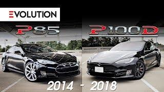 Evolution - Comparing Tesla's P85 to P100D!