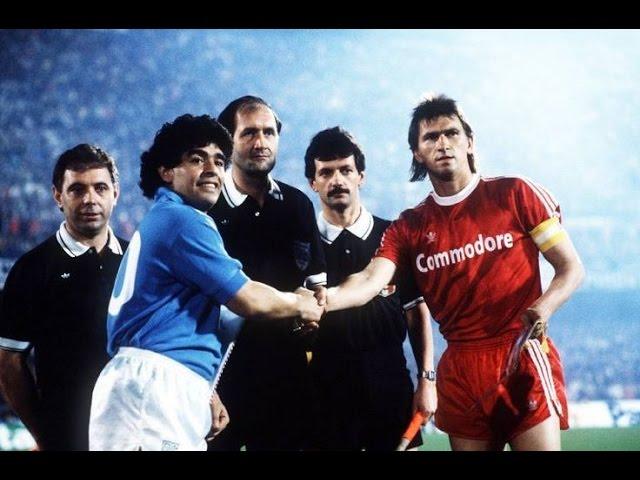 Diego Maradona Vs Bayern Munich 1989 Classical Match Youtube