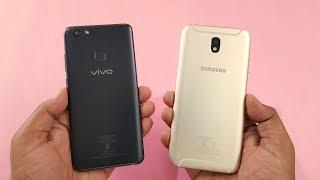 ViVo V7 Plus vs Samsung J7 Pro SPEED TEST COMPARISON