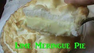 Diabetic Friendly Lime Meringue Pie, Works With Splenda or Sugar