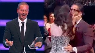 J Balvin se queda Sin Micrófono y Maluma Besa a su Novia al ganar premio en los Billboards 2018!