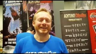 Fallout miniature game interview Modiphius games Salute 2017 + Epilogue.