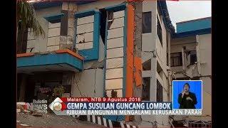 Video Mengerikan!! Beginilah Kondisi Bangunan di Lombok Pasca Diguncang Gempa - BIS 10/08 download MP3, 3GP, MP4, WEBM, AVI, FLV Agustus 2018