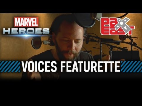 Marvel Heroes  Meet the Voices of Marvel Heroes